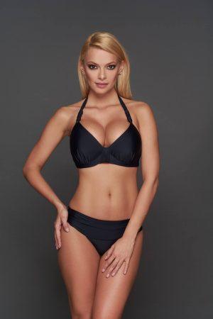 Toscana fekete Pyramid bikini