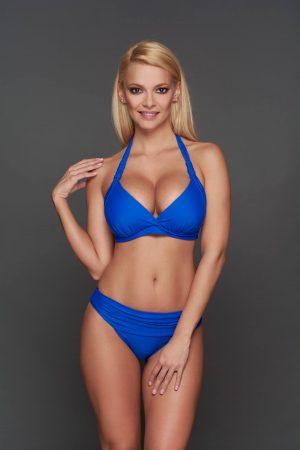Corse kék Pyramid bikini