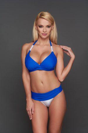 Corse kék ezüst bikini