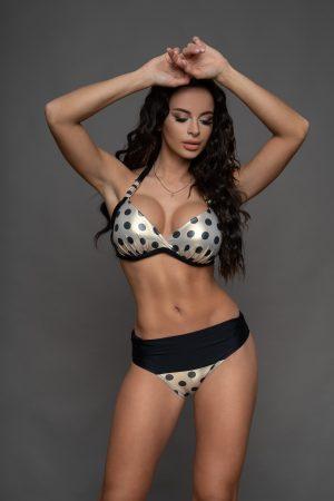 Corse pöttyös bikini