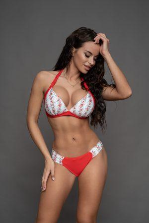 NIce bikini piros virágos