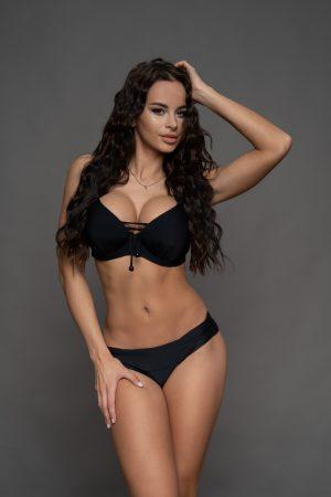 Raguza bikini fekete színben
