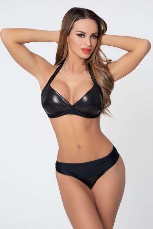 Corse fekete bikini